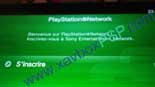 inscription sur le PlayStation Network